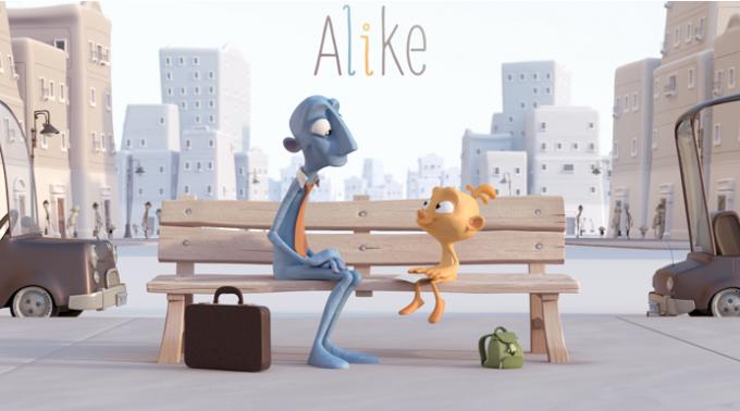 Alike, un corto para reflexionar. ¡Pon color a tu vida!