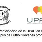 Participación de la UPAD en el II Campus de Fútbol