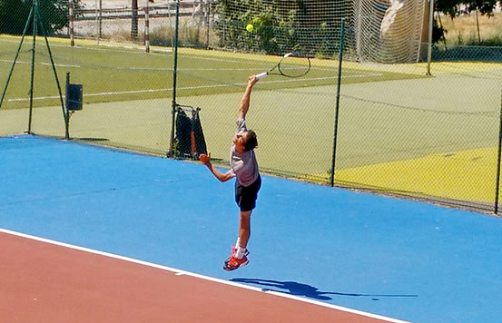 Pedro Castillo - Tenis