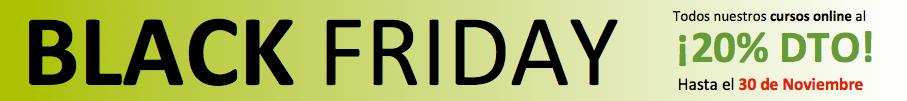 Black Friday - 20% Dto Cursos Online De Psicologia