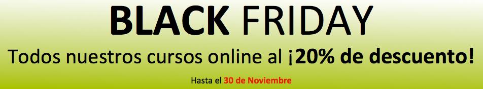 Black Friday - 20% Dto Cursos Online De Psicologia 2