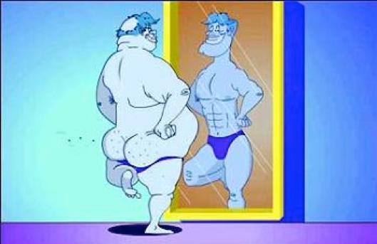 Arriba nuestra autoestima y abajo la operación bikini