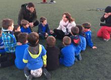 Escuela de Valores: respeto y confianza en el fútbol