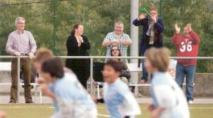 Padres-entrenadores: comportamiento desde la grada