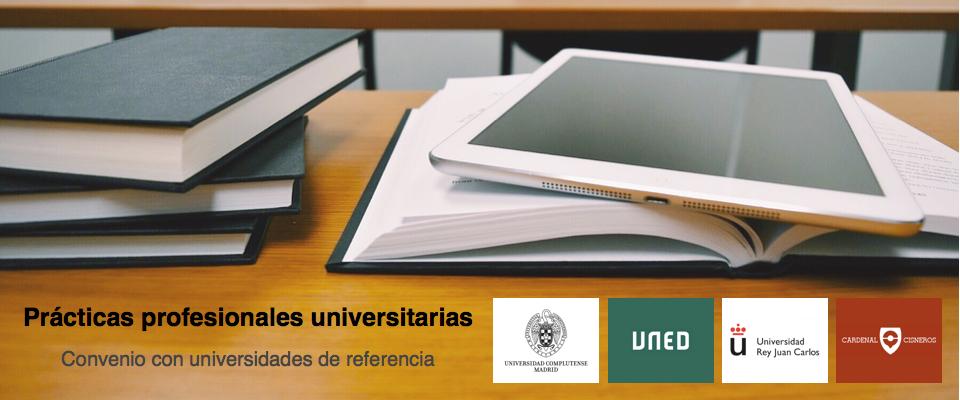 Practicas profesionales universitarias en Psicología en Madrid