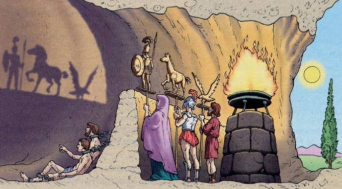 La alegoría de la caverna de Platón | UPAD
