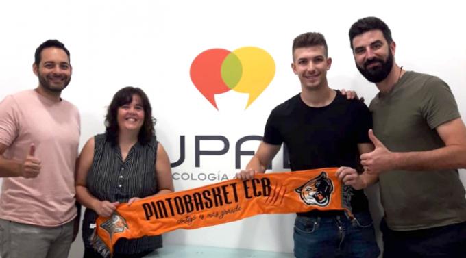 El Pintobasket apuesta por la Psicología deportiva de la UPAD