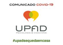 Comunicado #upadsequedaencasa