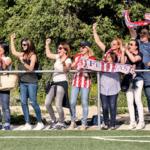 La actitud de los padres en las gradas de fútbol